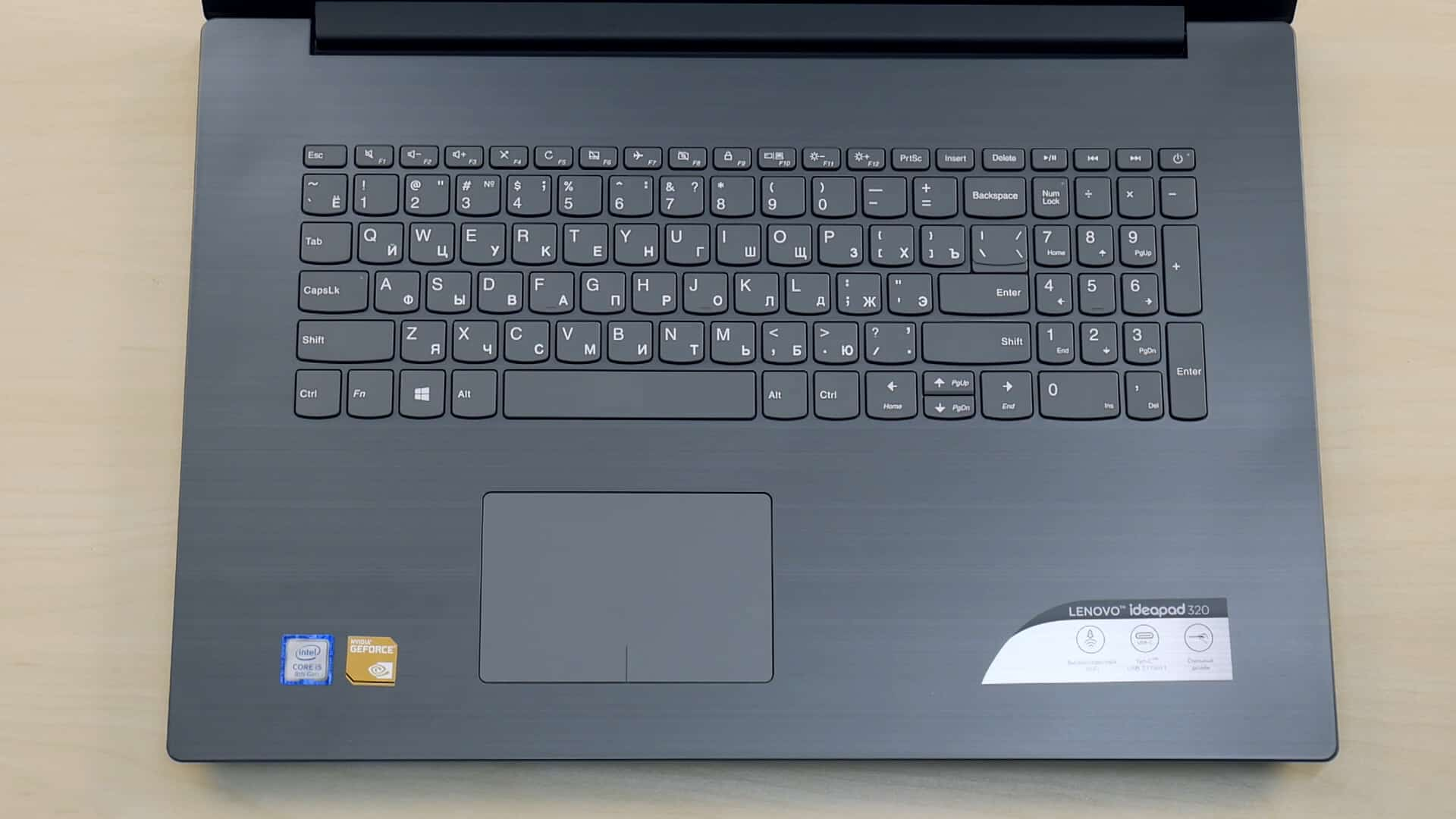 Клавиатура Lenovo IdeaPad 320 17 Intel