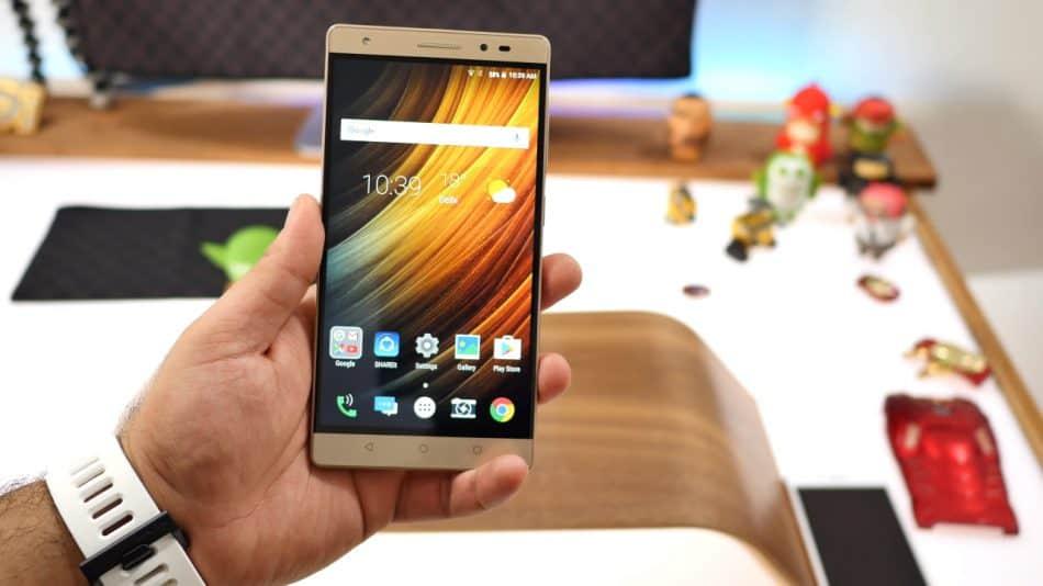 Дисплей планшета Lenovo Phab Plus 7