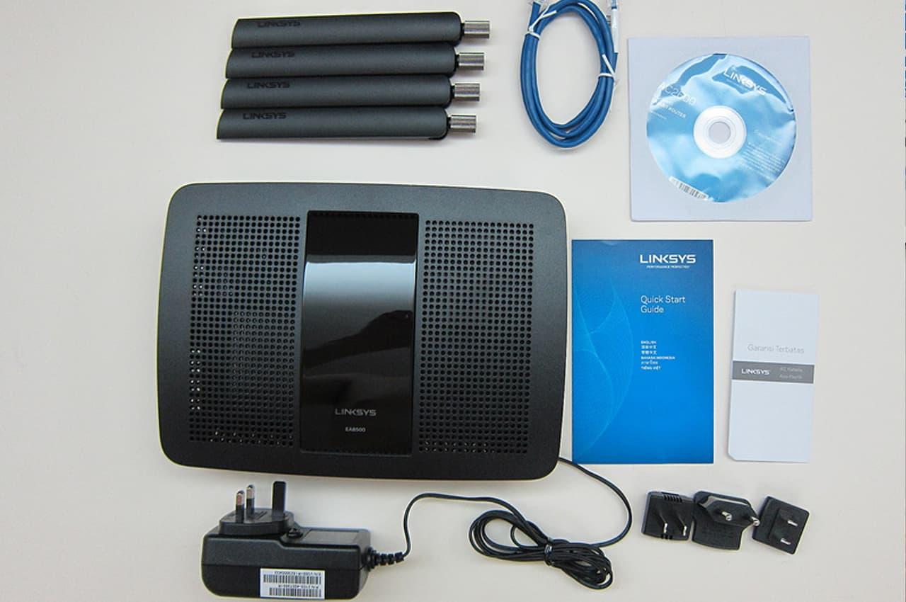 Комплект поставки LinkSys EA8500