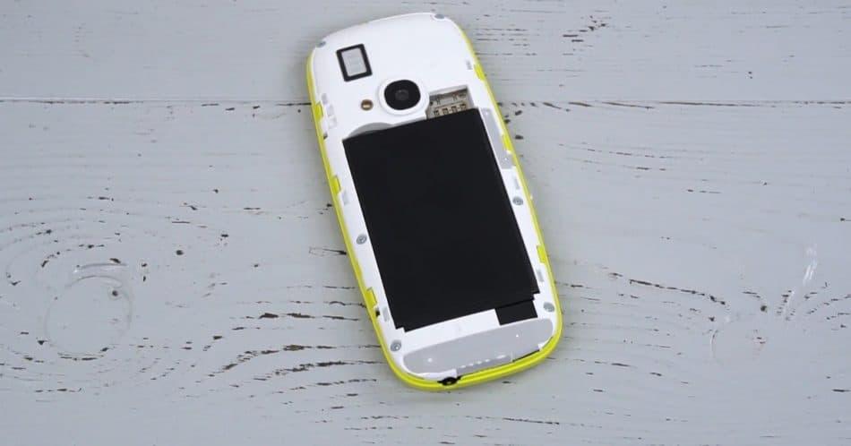 АКБ у Nokia 3310 (2017)