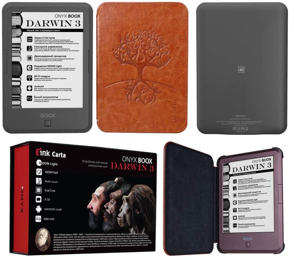 Дизайн ONYX BOOX Darwin 3