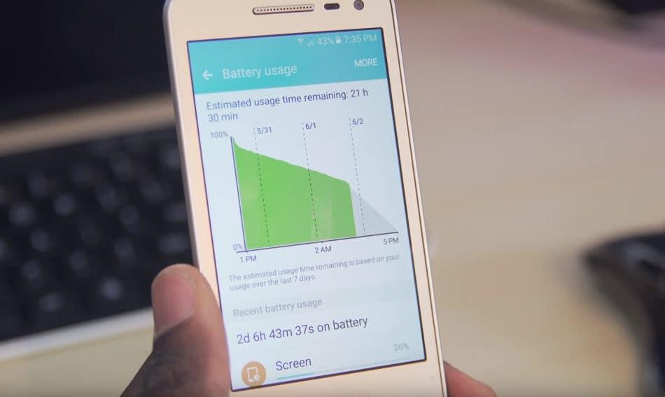 Тест АКБ Samsung Galaxy Folder 2