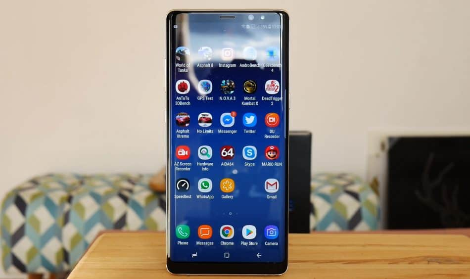 Экран Samsung Galaxy Note 8