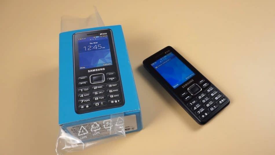 Комплектация телефона Samsung Metro B350e