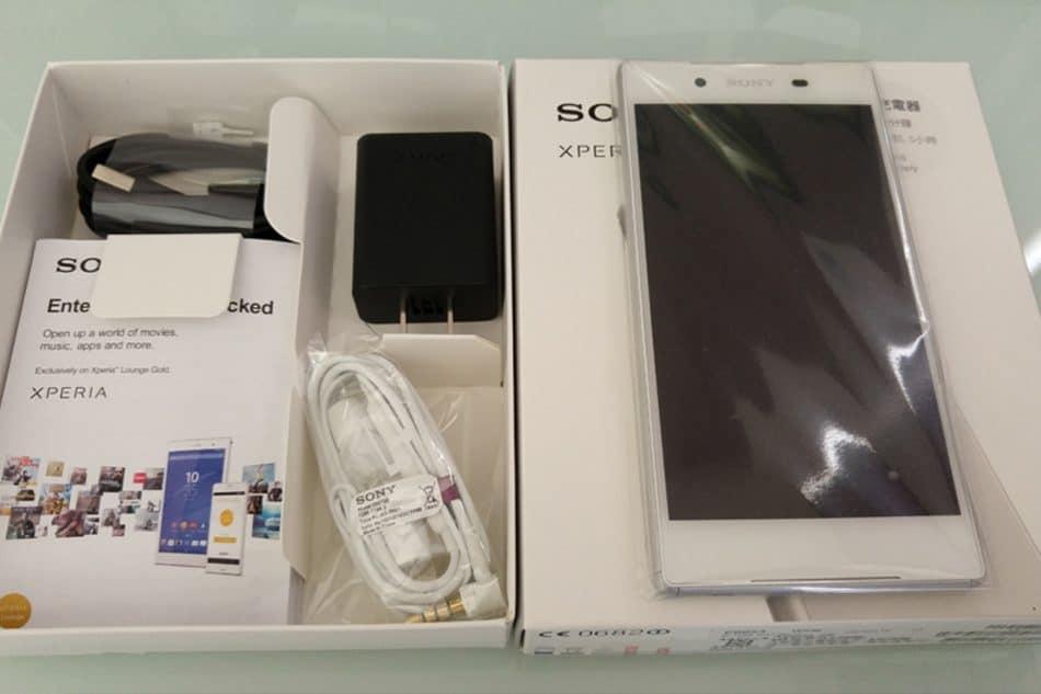 Комплектация смартфона Sony Xperia Z5