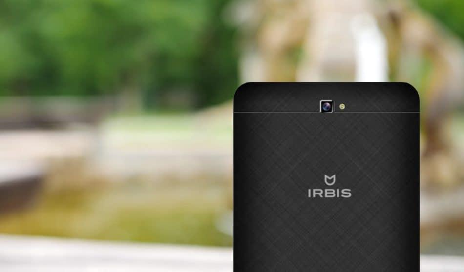 Камера у Irbis TZ732