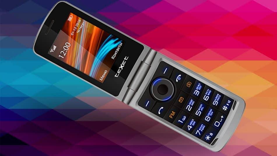 Экран телефона TeXet TM-404