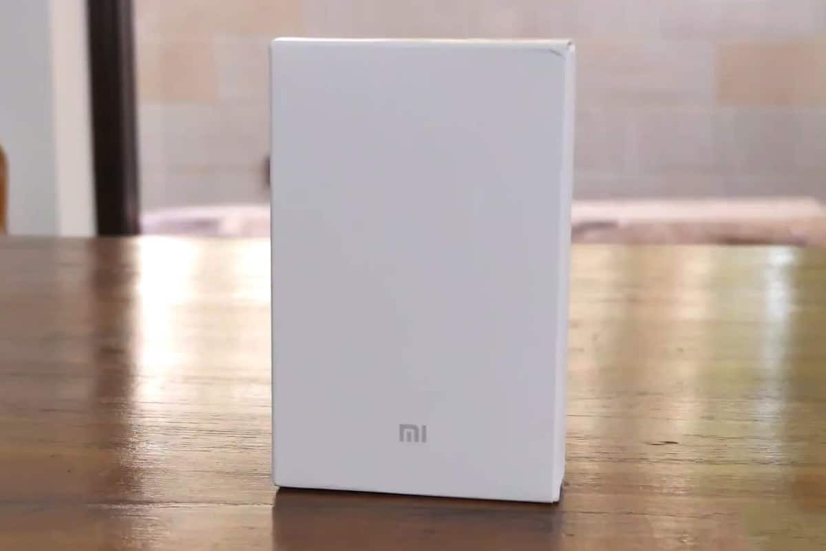 Коробка Xiaomi Mi Power Bank 20000
