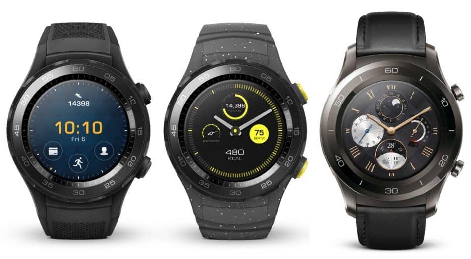 Модификации Huawei Watch 2
