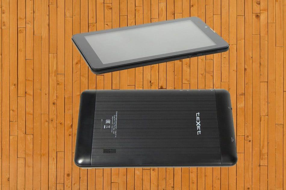Дизайн teXet TM-7866