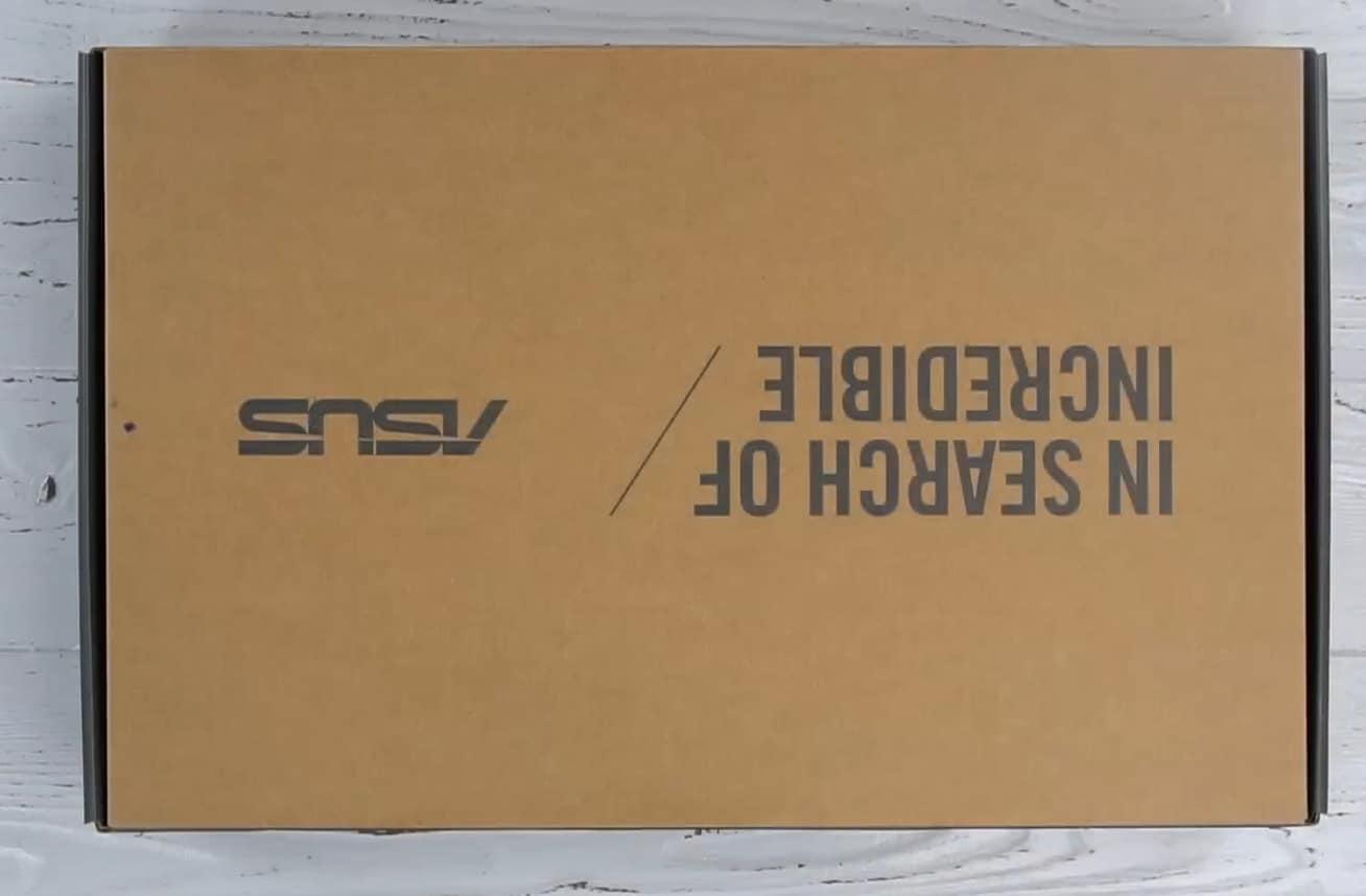 Упаковка ASUS X507UB