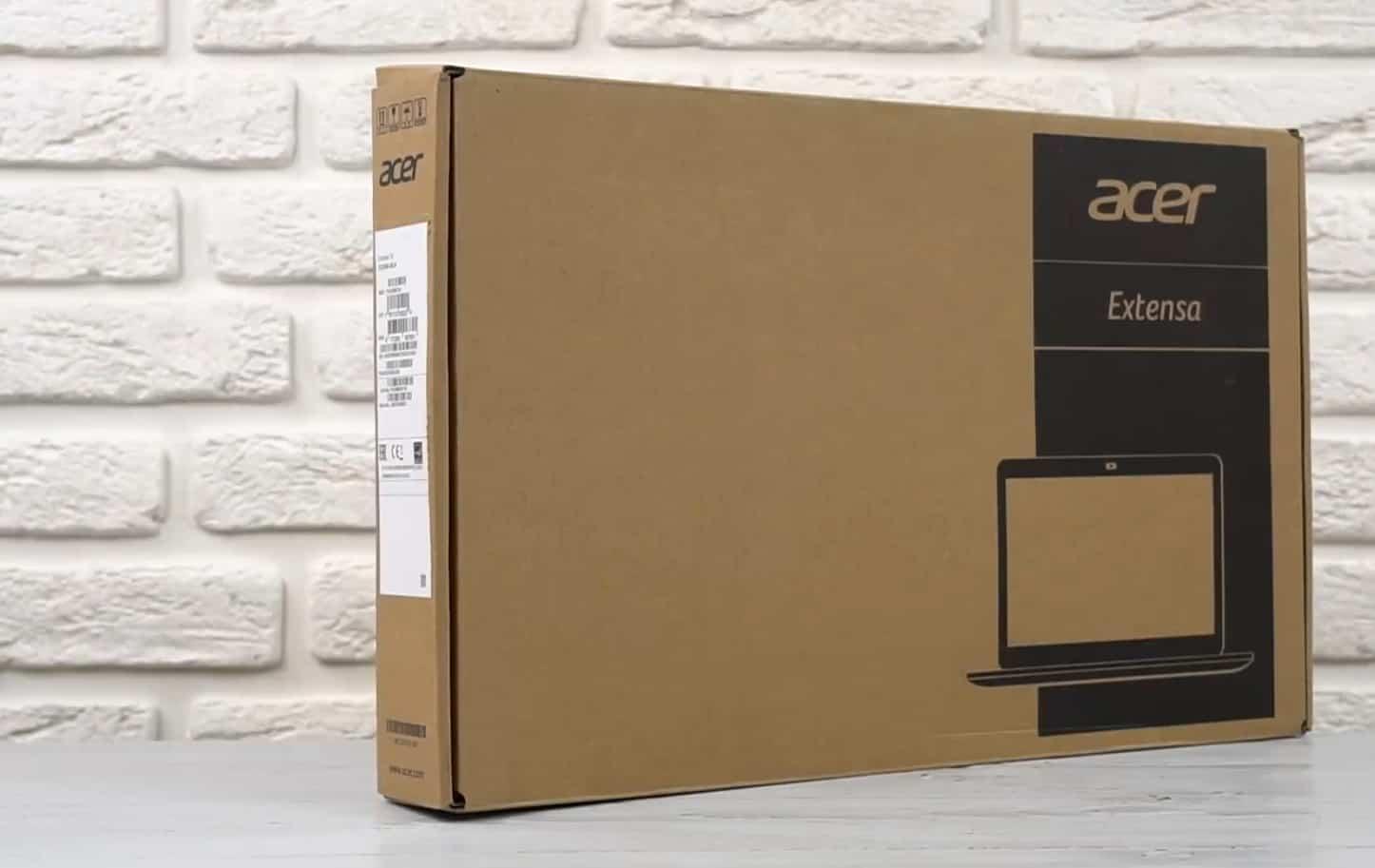 Заводская коробка Acer Extensa EX2540