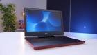 Дизайн в красном цвете Dell Inspiron 7567