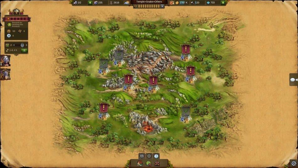 Карта игрового мира