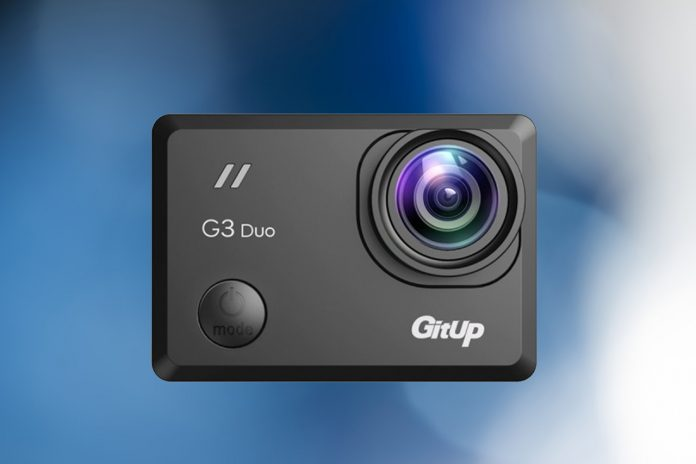 Обзор GitUp G3 Duo Pro Packing