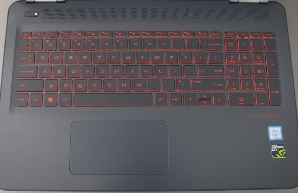 Клавиатура и тачпад HP OMEN 17-w200