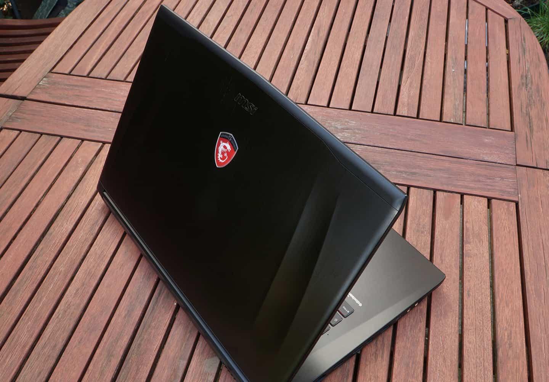 Крышка ноутбука MSI GE72 6QF Apache Pro