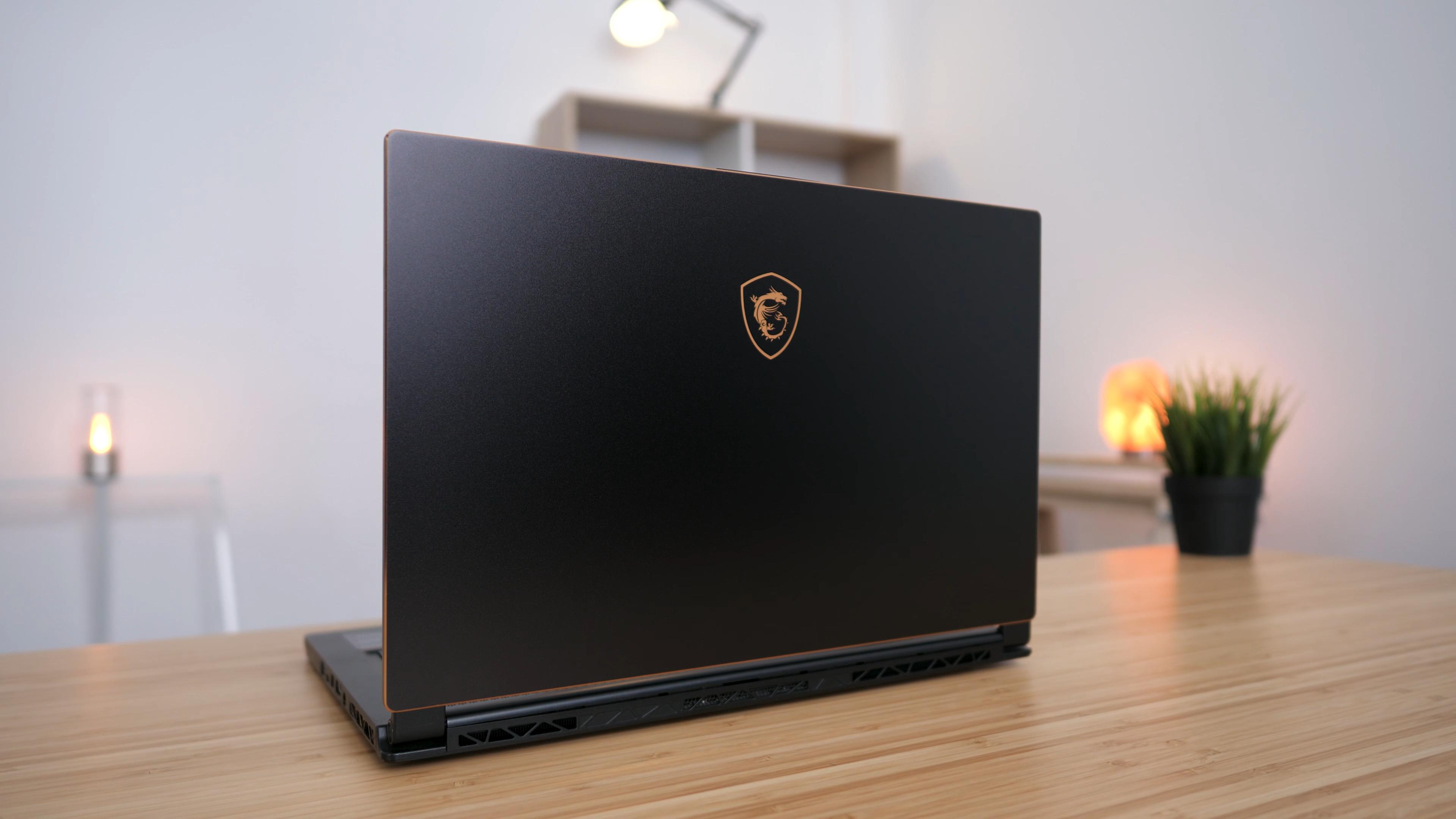 Вид ноутбука в рабочем положении