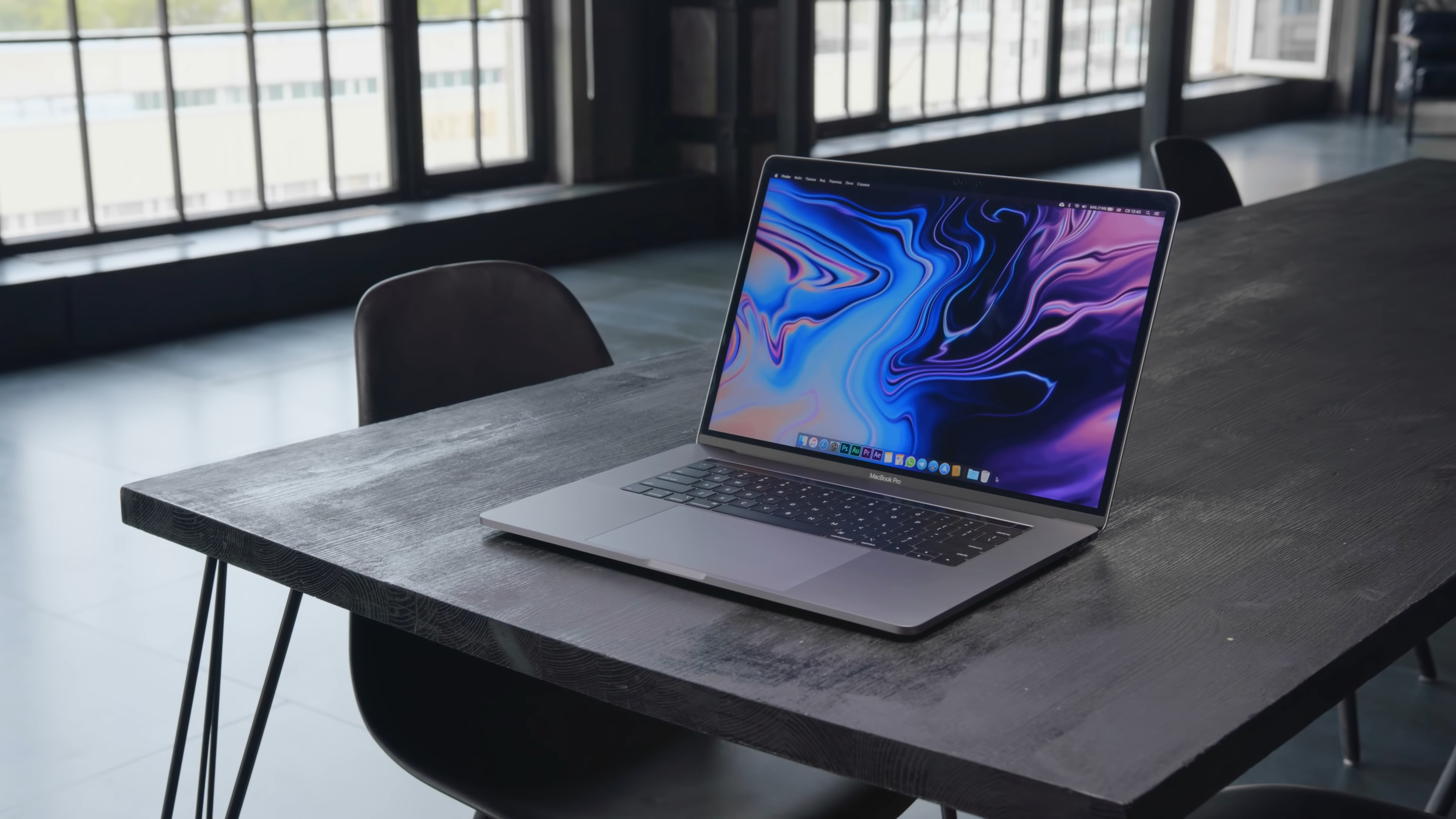 Дизайн MacBook Pro 15 (2018)