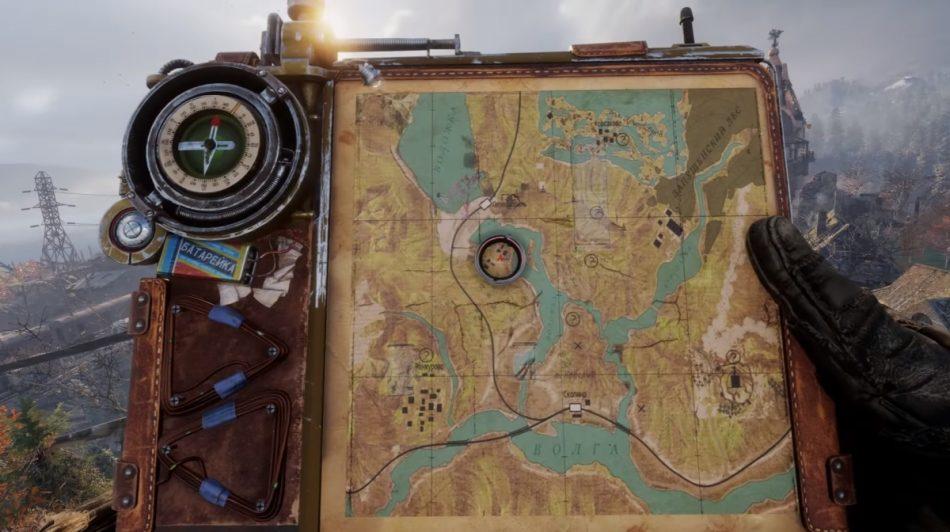 Карта Metro Exodus