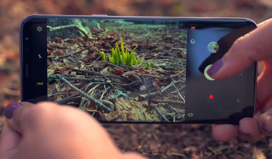 Работа камеры смартфона