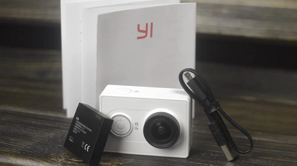 Комплектация YI Action Camera Basic Edition
