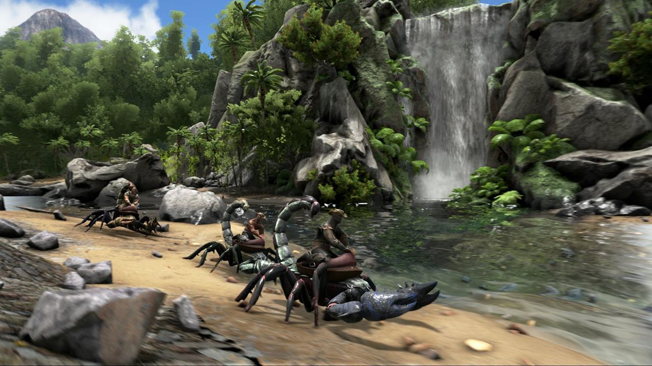 Геймплей ARK Survival Evolved