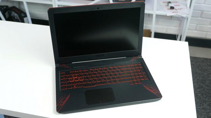 Ноутбук ASUS TUF Gaming FX504GD – быстрый и красочный, но