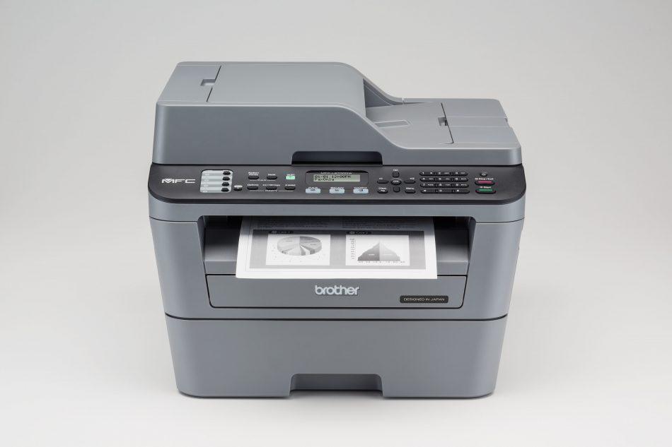 Пример печати Brother MFC-L2700DWR