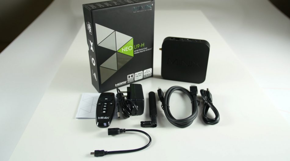 Комплект поставки Minix Neo U9-H