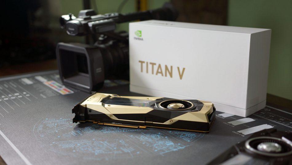 Дизайн видеокарты NVIDIA Titan V