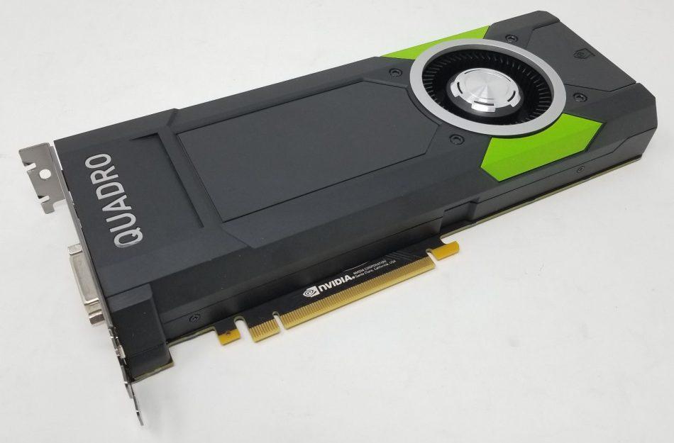 Внешний вид Quadro P6000