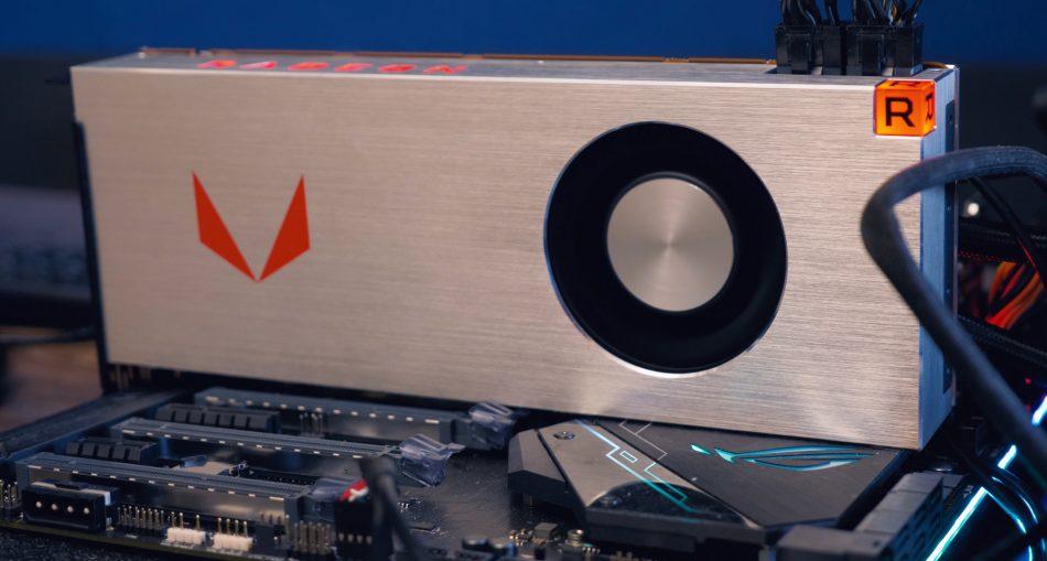 Дизайн видеокарты Radeon RX Vega 64