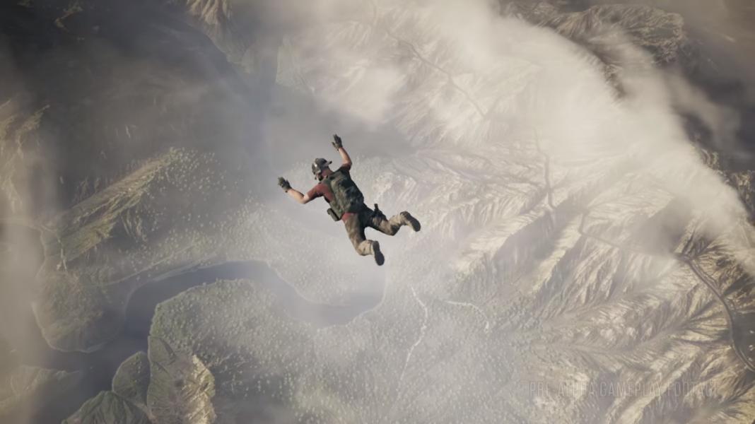 Прыжок с парашутом