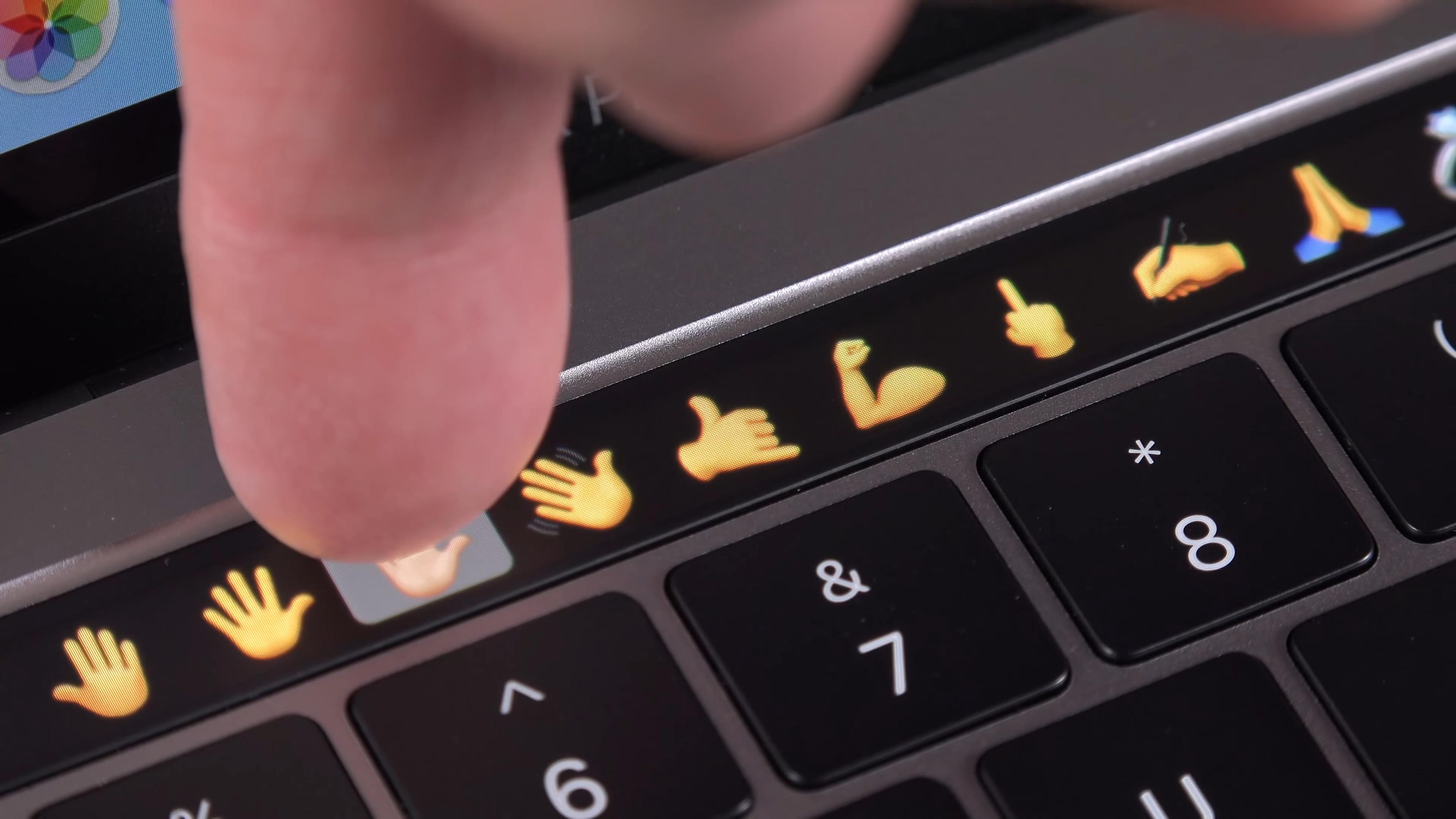 Сенсорный тачбар Apple MacBook Pro 13 Mid 2018
