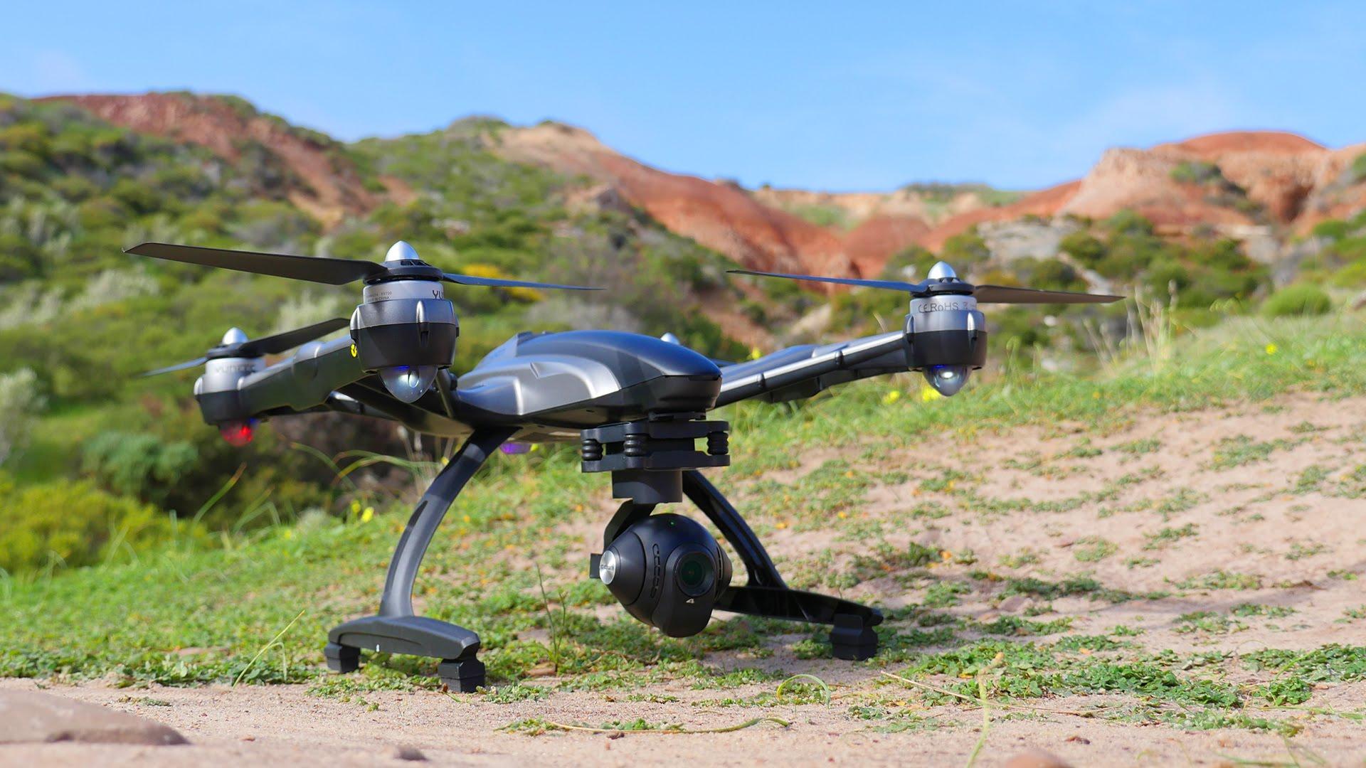Yuneec Typhoon Q500 квадрокоптер с GPS и 4K камерой