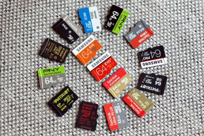 Лучшие SD и microSD карты памяти