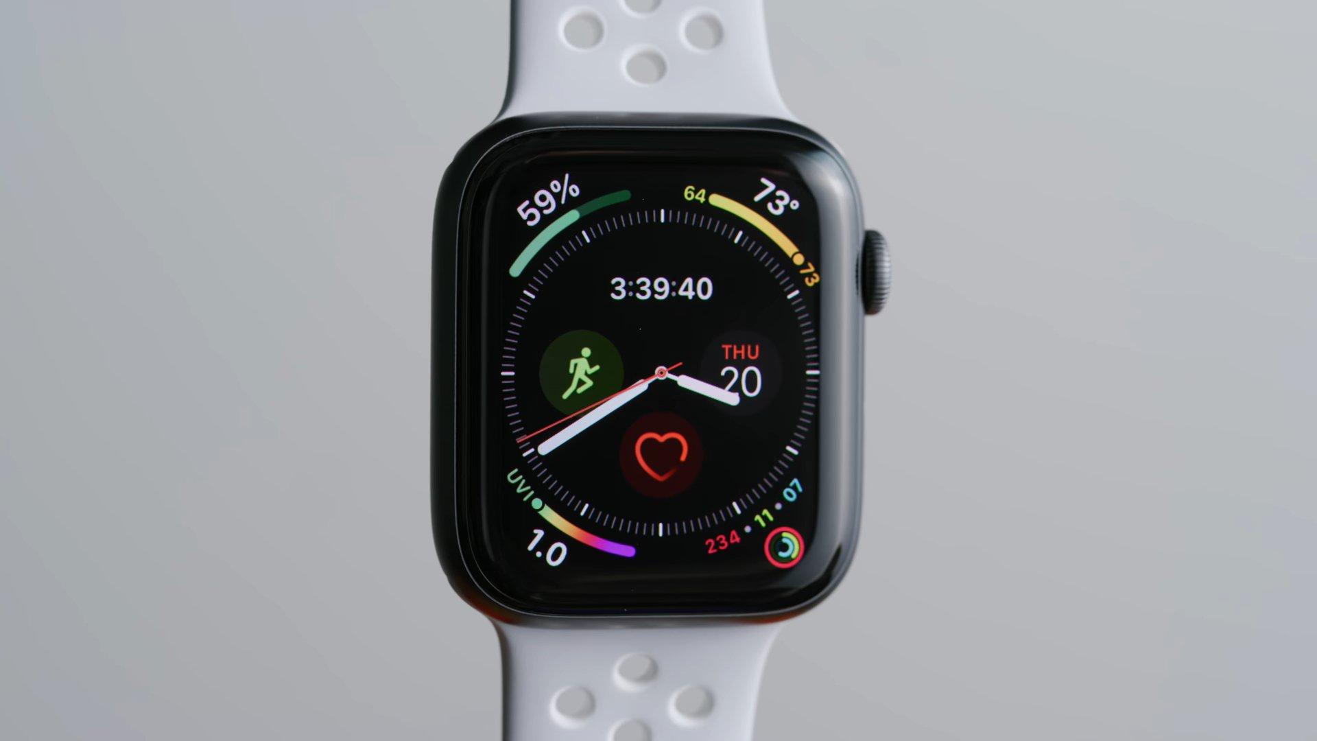 Экран часов