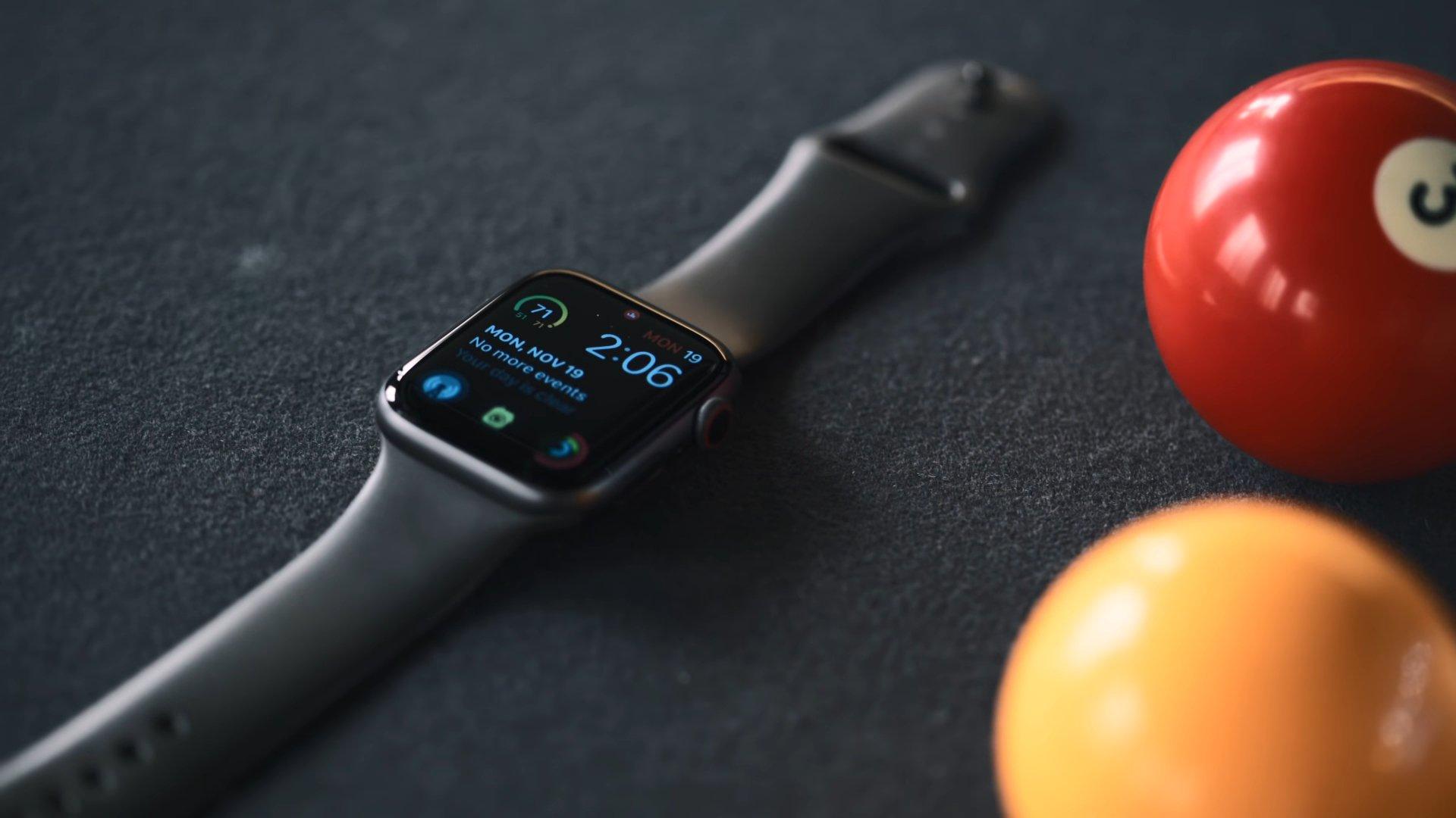 Внешний вид Apple Watch Series 4