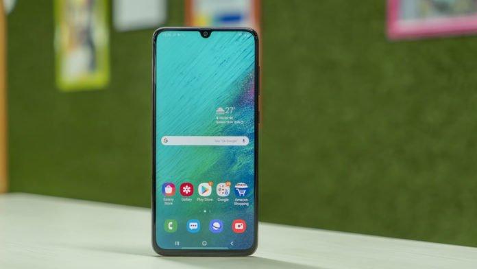 Обзор Samsung Galaxy A70