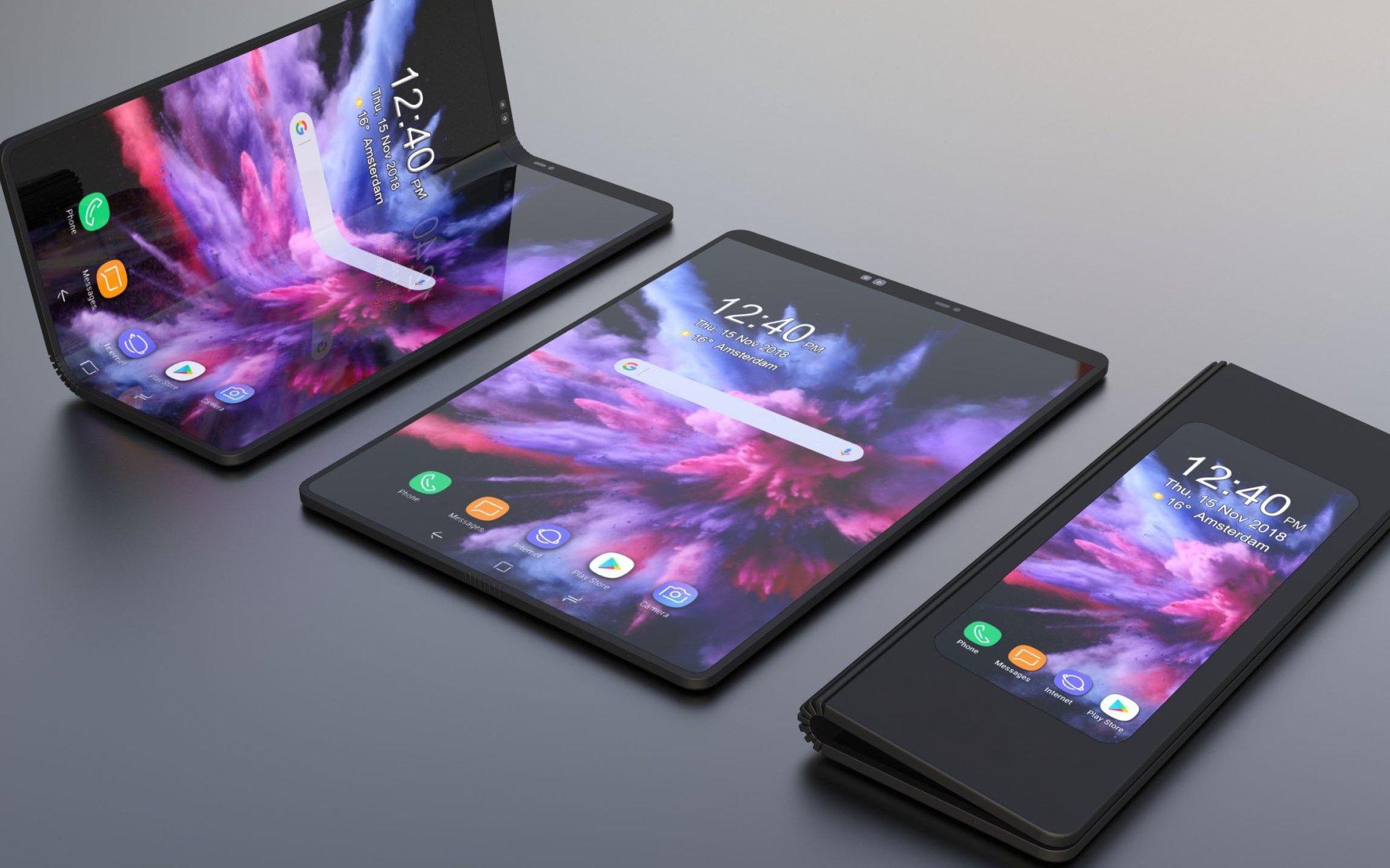 Смартфон Galaxy Fold