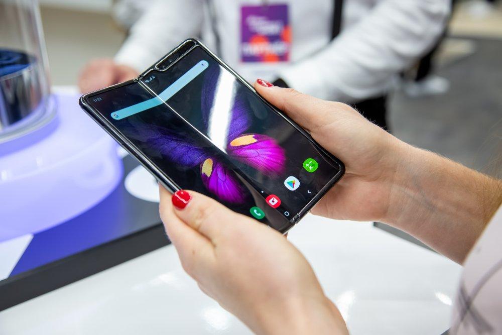 Как выглядит Galaxy Fold 2 (W20 5G)