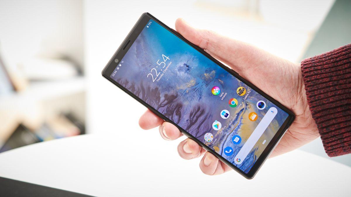 Внешний вид Sony Xperia