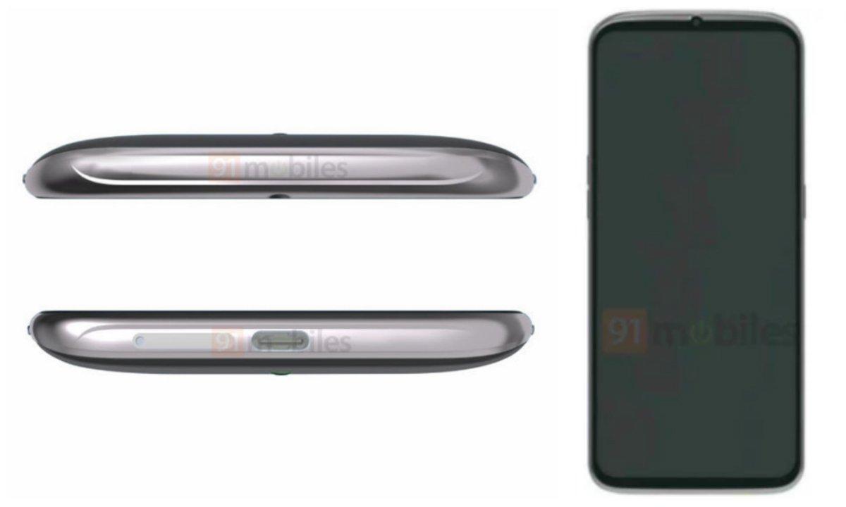 Размещение селфи-камеры на смартфоне OPPO