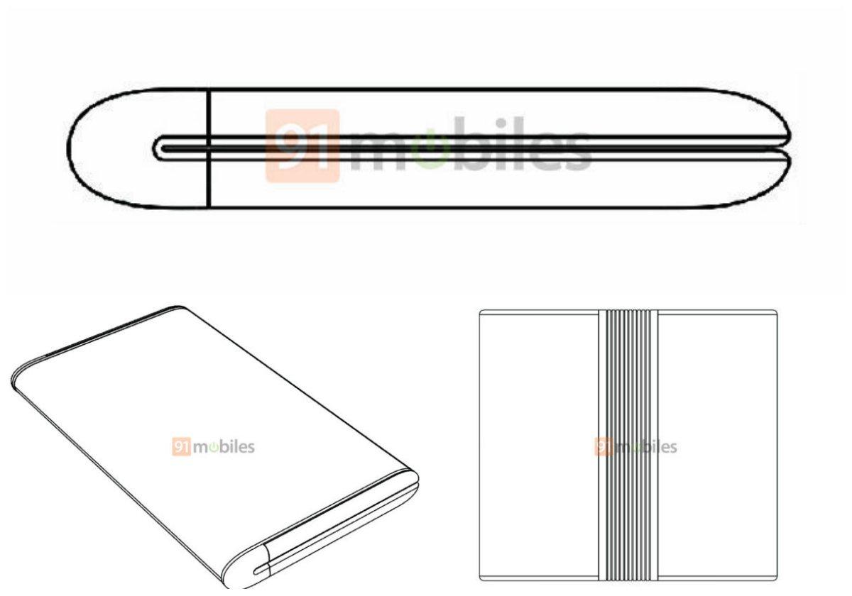 Модель гибкого смартфона Xiaomi