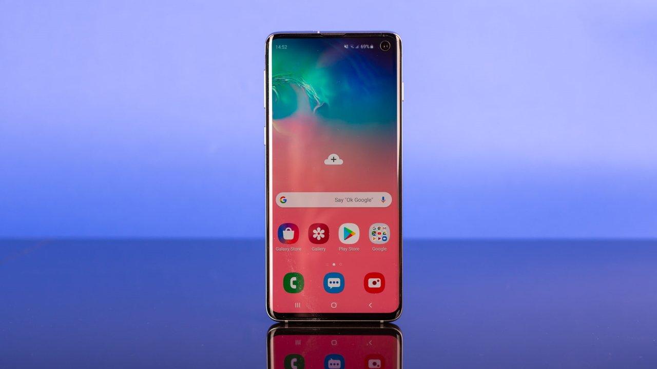 Внешний вид Samsung Galaxy S10 Lite
