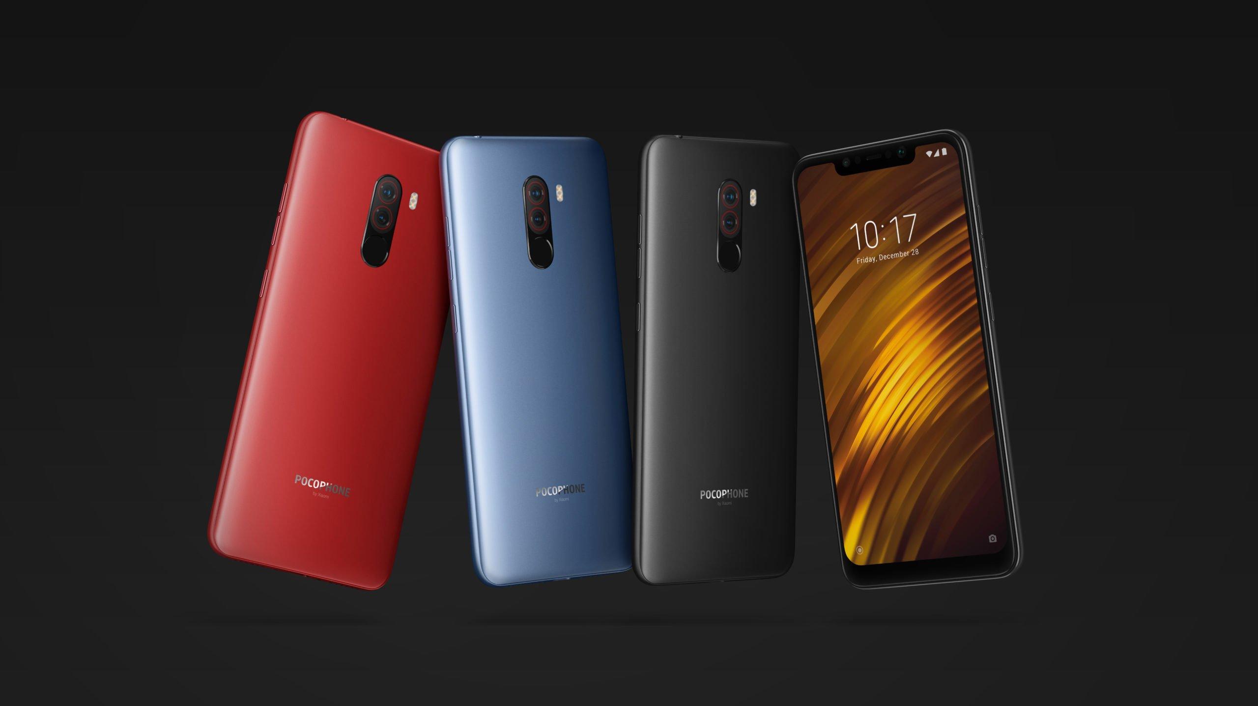 Смартфоны Xiaomi Pocophone