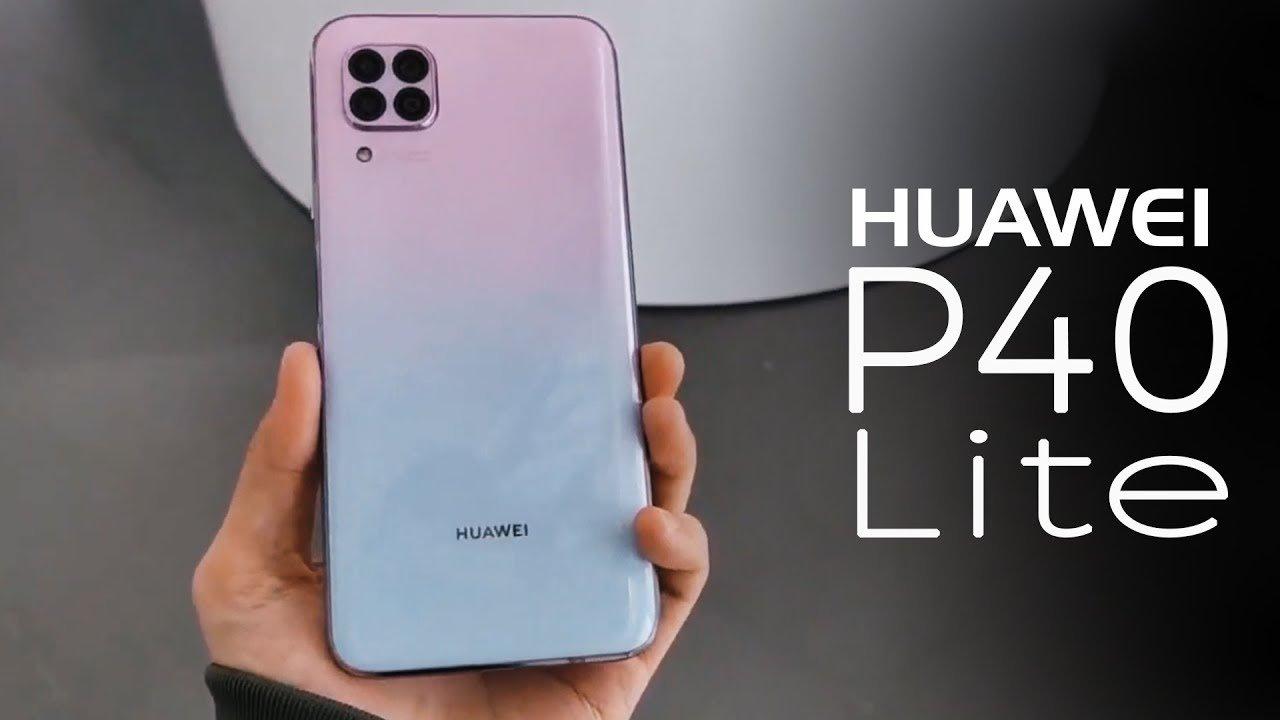 Внешний вид Huawei P40 Lite