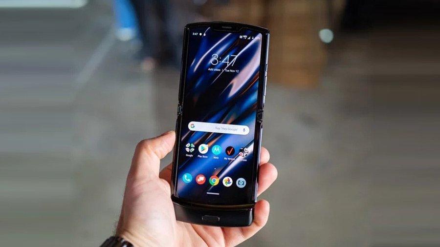 Внешний вид Motorola Razr
