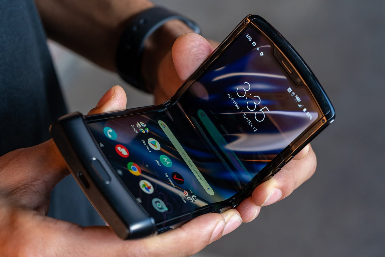 Как выглядит Motorola Razr